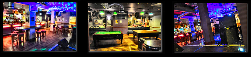 The stage at the Fox and Goose Southport - Merseyside - Rock Venue