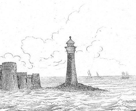 Perch Rock Lighthouse.
